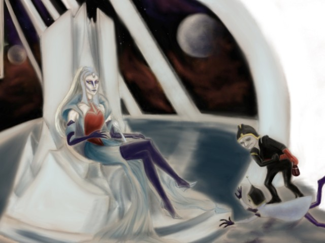 Svemirska vještica pozvala je svoje sluge