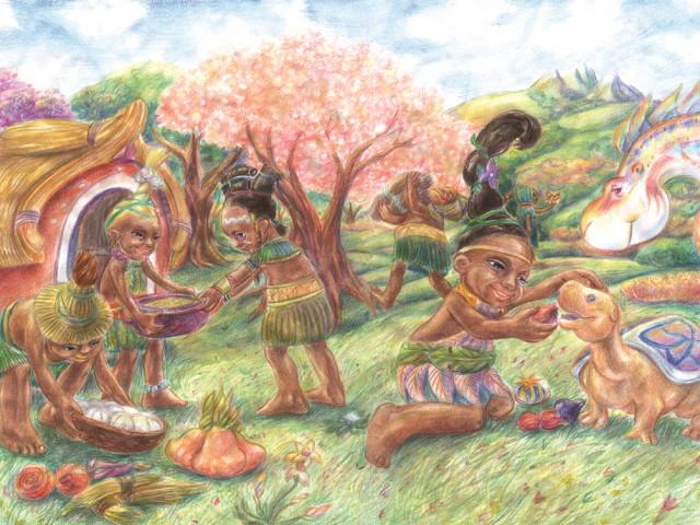 Mir i sreća vratili su se u selo Tigiji