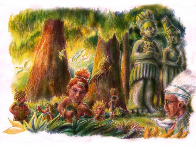 Svemirska vještica – Tigiji u šumi